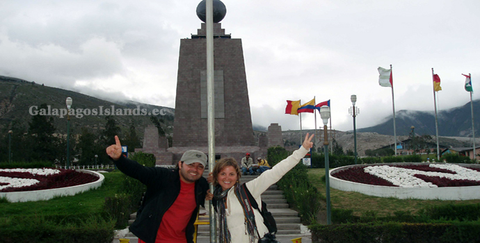Ecuador land tours - Middle of the world
